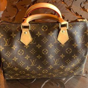 🔥FIRM Auth Louis Vuitton speedy 30 🔥🔥🔥